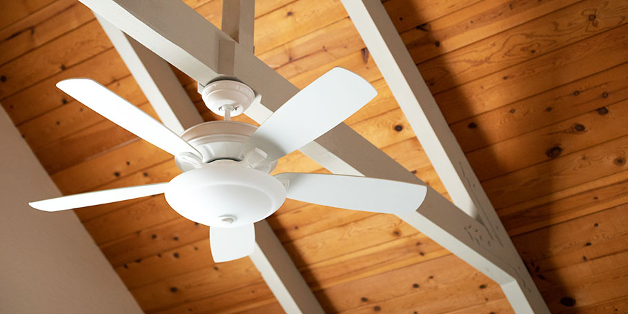 ceiling fans help circulate air in your home